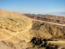 Arava desert Royalty Free Stock Photos