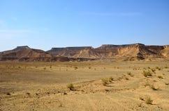 Arava Desert. Fragment of the southern stretch of the Arabah(Arava), Israel Stock Photo