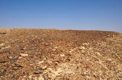 Arava Desert. Fragment of the southern stretch of the Arabah(Arava), Israel Royalty Free Stock Image