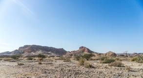 Arava desert travel in Israel Stock Photo
