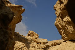 Arava Wüste Lizenzfreie Stockfotografie