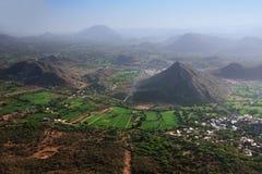 Aravalli hills, Rajasthan, India. Aravalli hills near Udaipur, Rajasthan, India Royalty Free Stock Photo