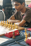 Aravindsh Chithambaram. Chess player in the international open Gibraltar. It is one of the most important in the world open. It is an editorial image September Stock Photo