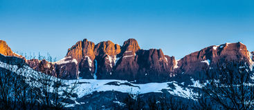 Aravis Range Mountain Top, France I Stock Image