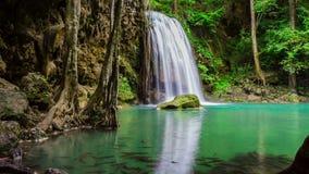Arawan Beautiful natural waterfall stock footage