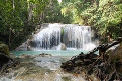 Arawan Wasserfall Lizenzfreie Stockfotos