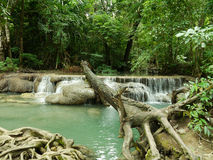 Arawan Water fall Royalty Free Stock Images
