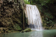 Arawan water fall national park Stock Image