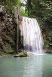 Arawan water fall national park Royalty Free Stock Photo