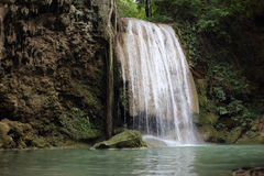 Arawan water fall national park Royalty Free Stock Images