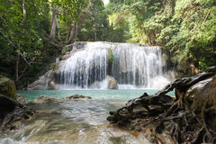 Arawan Waterfall Royalty Free Stock Photos