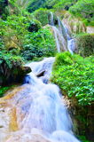 Arawan waterfall at Thailand Stock Photography