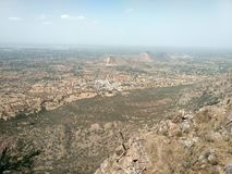 A view from harsh parvat stock photography