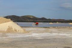 Araya saltworks zdjęcie royalty free
