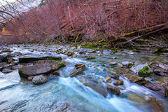 Arazas river Valle de Ordesa valley Pyrenees Huesca Spain Royalty Free Stock Images