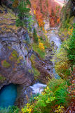 Arazas river waterfall in Ordesa valley Pyrenees Huesca Spain Royalty Free Stock Photography