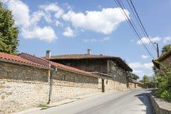 Street in the village of Arbanasi Veliko Tarnovo, Bulgaria. ARBANASI, BULGARIA - AUGUST 10, 2017:Street in the village of Arbanasi Veliko Tarnovo, Bulgaria Royalty Free Stock Images