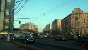 Arbat street, Moscow Royalty Free Stock Images