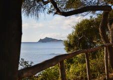 Arbatax,撒丁岛,意大利 免版税图库摄影