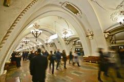 Arbatskaya Metrostation, Moskau lizenzfreies stockfoto