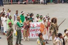 Arbegnoch Qen - день патриотов Стоковые Фотографии RF