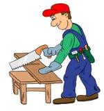 Arbeider vector illustratie