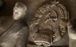 Arbeider & Collectief fragment 2 van het Landbouwbedrijf Royalty-vrije Stock Afbeeldingen