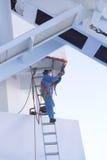 Arbeider met PPE Stock Foto's