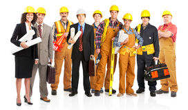 Arbeiders Royalty-vrije Stock Foto