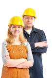 Arbeiders. Stock Afbeelding