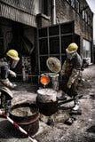 Arbeiders stock foto