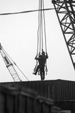 Arbeiders op plicht royalty-vrije stock fotografie