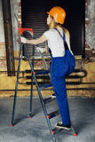 Arbeidersvrouw Stock Foto's