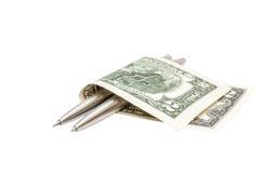 Arbeit hart für Reichtum lizenzfreies stockbild