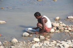 Arbeit in India-1 Stockfotografie