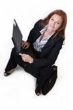 Arbeiten bei der Aufwartung Lizenzfreie Stockfotos