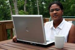 Arbeiten an Computer