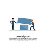 Arbeiten Geschäftsleute Gruppen-Team Competition Concept zusammen Stockfoto