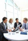 Arbeiten im Büro Lizenzfreies Stockfoto