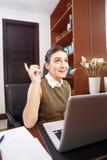 Arbeiten im Büro Lizenzfreie Stockfotografie