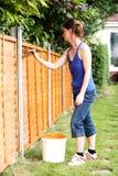 Arbeiten im Garten Stockbilder