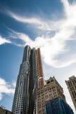 Arbeiten im Times Square Stockfoto