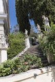 Arbeiten Sie am Achilleions-Palast auf der Insel von Korfu Griechenland errichtet von der Kaiserin Elizabeth von Österreich Sissi Stockfotografie