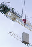 Arbeiten Sie an dem Bau eines Einkaufszentrums in Charkiw Stockfotos