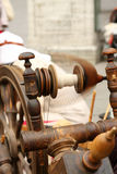 Arbeitendes spinnendes Rad Lizenzfreies Stockfoto