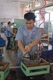 Arbeiter, Chongqing, China Lizenzfreie Stockbilder
