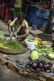 Arbeiterklasse in Kolkata, Indien Lizenzfreies Stockbild