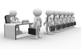Arbeitgeber Lizenzfreie Stockfotos