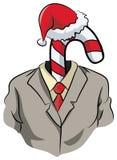 Arbeitgebercomputer-Feierweihnachten stockfotos