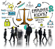 Arbeitnehmerrechte-Beschäftigungs-Gleichheit Job Business Commuter Stockfotografie